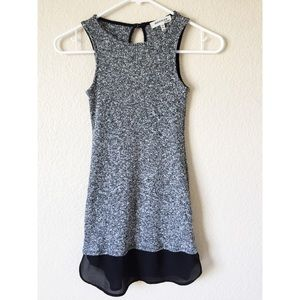 XS MONTEAU black and grey tank top